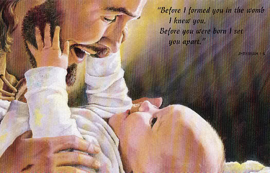 Jesus & our sweet baby girl