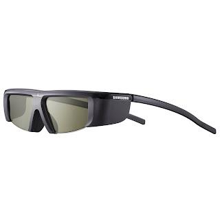 Samsung SSG-2100AB Battery 3D Glasses, Black