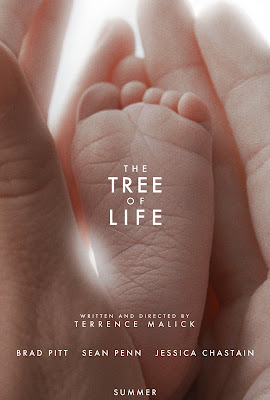 "Image of the Movie Poster for ""The Tree of Life"" directed by Terence Malick"