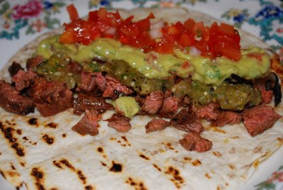 Life at Quail Hollow: Skirt Steak Tacos with Guacamole and ...
