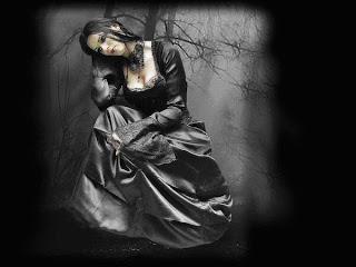 gothic gambar setan