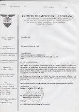 FEDERACION ECUATORIANA DE FUTBOL DE SALON