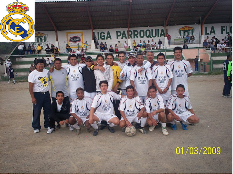 REAL MADRID CAMPEON DE LIGA LA FLORESTA 2009 / 2010