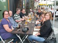 Unsere Gruppe beim Speisen