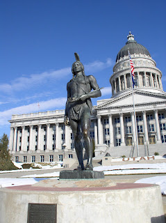 Image result for massasoit at the Utah state capitol
