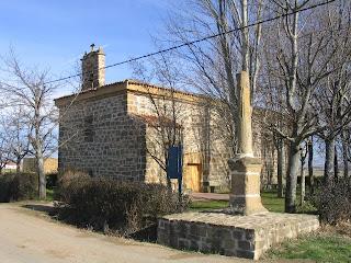 Exterior de la ermita de la Virgen Peregrina (Leiva)