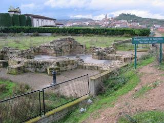 Planta del antiguo hospital de peregrinos de Navarrete