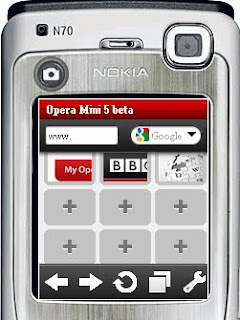new opera mini beta 5