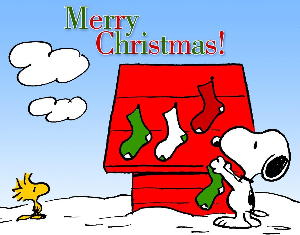 merry christmas woodstock and snoopy decorating his dog house with christmas stockings full size 1212 x 950 type jpeg graphic