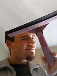 Limpiando vidrio humor