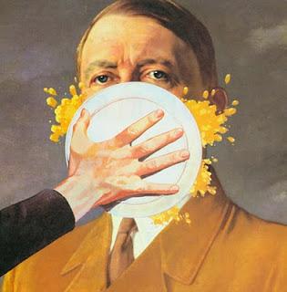 Torta Adolf Hitler humor
