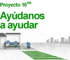 Logo proyecto 10 100 Google