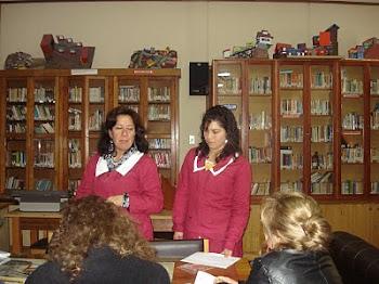 """Anfitrionas CRA"""" Colegio Juana Ross"""""""