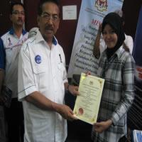 Bersama Ketua Menteri Sabah
