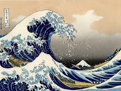 La gran ola de Kanawaga, Katsushika Hokusai