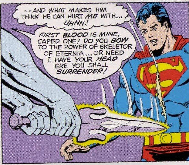 Needless Things: He-Man Versus Superman: The Comic Book