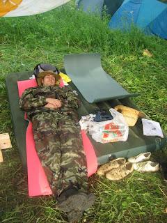 Охрана лагеря бдит