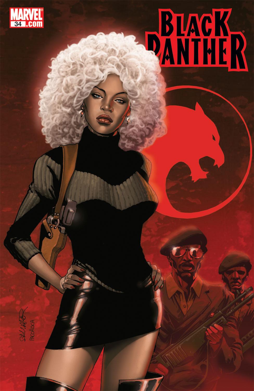 Black Panther (2005) 34 Page 1