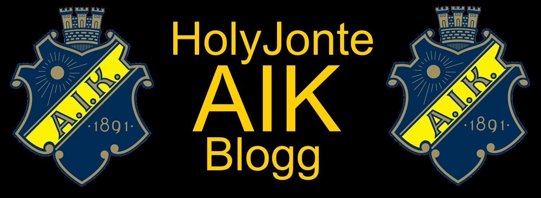 HolyJontes AIK Blogg