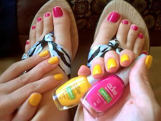 esmalte_rosa_pink_amarelo_sol