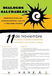 Afiche Diálogos Saludables