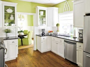 Country Living Elements Of Style Blog The Gray Greens Of The Cabinet