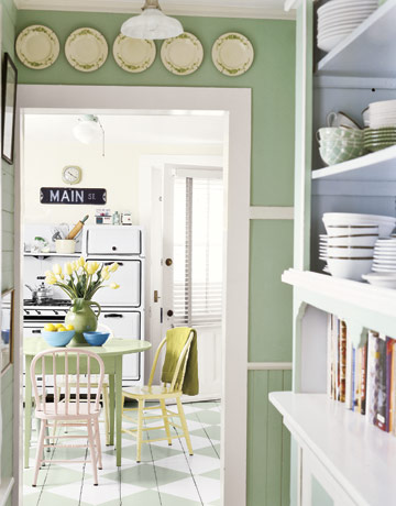 C.B.I.D. HOME DECOR and DESIGN: EXPLORING WALL COLOR: SERENE GREEN