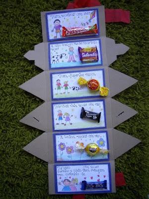 Pedag giccos lembrancinha para o dia dos pais com chocolates for Caixa oficina internet