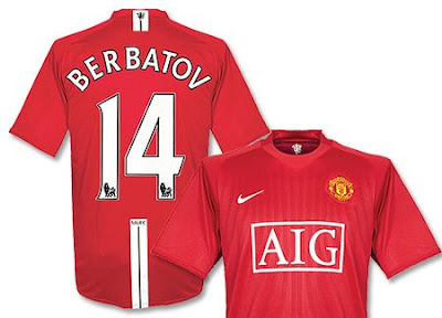 manchester united berbatov united