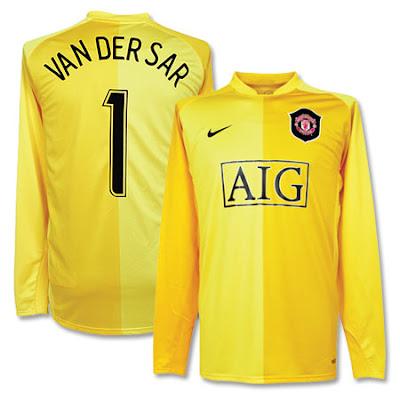 manchester united blog edwin van der sar goalkeeping record cech