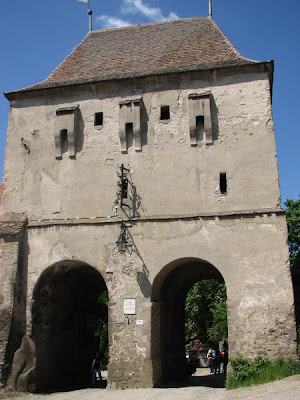the taylors tower sighisoara