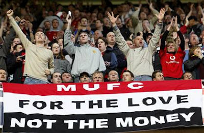 mufc love not money