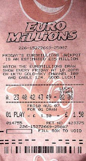 euro millions lotto ticket