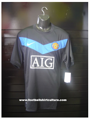 manchester united away jersey 2009/2010