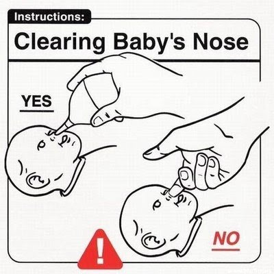 funny pictures instructions for new parents