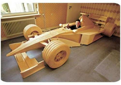 matchstick formula one car amazing pictures