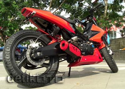 All Modifikasi Motors: Married Duck Motor Cross