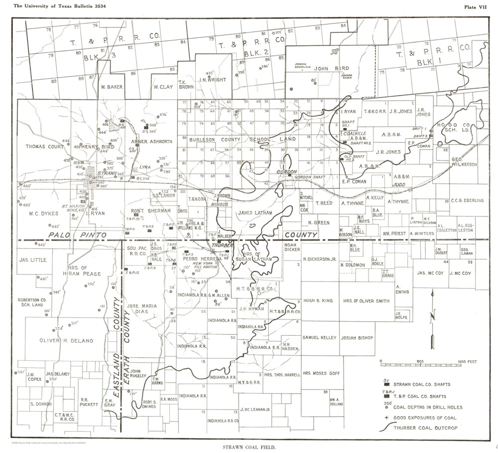 Strawn Texas Map