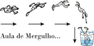 Desenho de mergulho