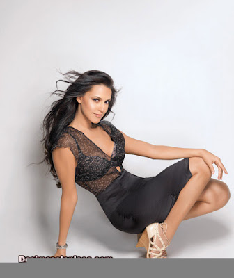 neha dhupia  is  going  secret lingerie  launched  its range  in  mumbai  party.