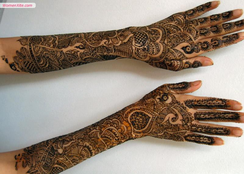 Full Bridal Mehndi Designs for Hands