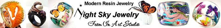 NightSkyJewelry - Modern Resin Jewelry