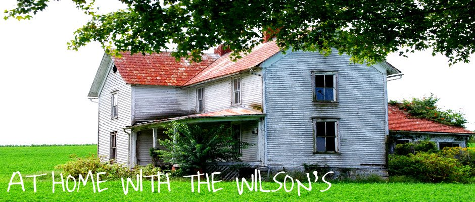 AT HOME WITH THE WILSON'S