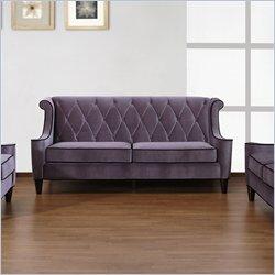 This Velvet Sofa Just Screams Hollywood Regency Fabulousness. Can You Say  Must Buy? Http://www.cymax.com/Armen Living Barrister Velvet Sofa  LC8443XX.htm