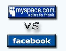 Facebook vs. Myspace essay?