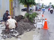 repair kabel tanah
