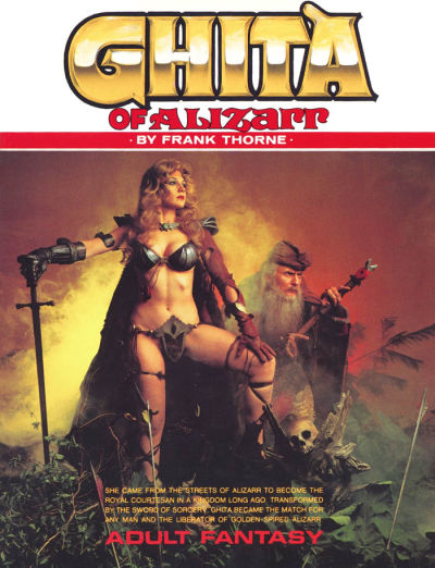 Ghita of Alizarr - Frank Thorne