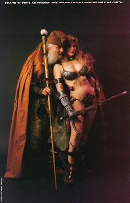 Ghita de Alizarr - Thenef el mago - Frank Thorne