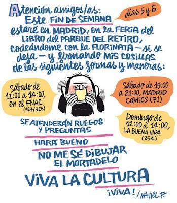 Firmas de Manel Fontdevila en la Feria del Libro de Madrid