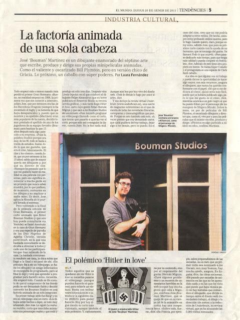 BoumanStudios - Diario El Mundo